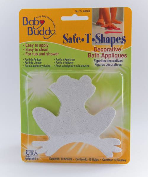 Baby Buddy Safe-T Shapes Bath Appliques