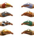 Animal Hands Temporary Tattoos