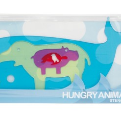Hungry Animals Stencil