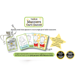 Golly Gee-Pers Table Manners Card Game