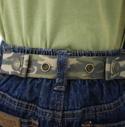 Dapper Snappers Toddler Adjustable Belt