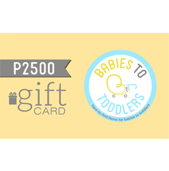 Babies to Toddlers Gift Card