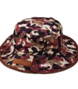 baby hat brown camo
