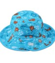 kids hat aqua sea