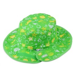 kids hat green