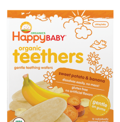 baby foods, organics, teethers, gentle teething wafers, dissolves easily, no mess, gentle on gums