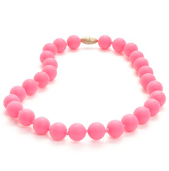Chewbeads Jane Jr. Necklace - Punchy Pink