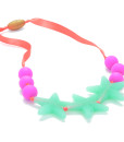 teething, beads, chew, glow in the dark, gums, teething tools. teething gadgets