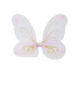 3Pcs Halloween,Costume, fairy Wings, Antenna Headband, Flower Wand, Costume Dressing Dress, Christmas Animal Bee, Wings Fairy Child
