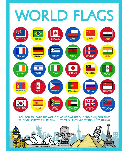 Poster - FLAGS