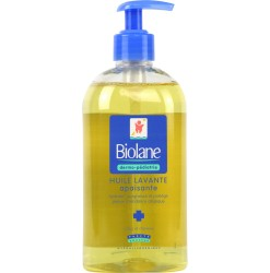 soothing oil, cleanser
