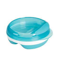Oxo Tot Divided Dish with Removable Ring (Aqua|Green|Pink)