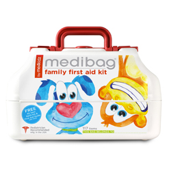medi aid, first aid, wellness, kids, toddlers, babies, babiestotoddlers, naturals, bandage, wounds, medibags, me4kids
